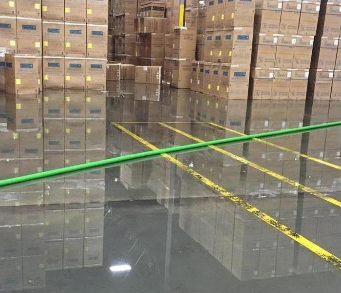 Commercial Flooding Due to Storm