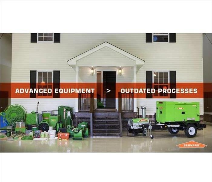 SERVPRO of Tupelo's Equipment