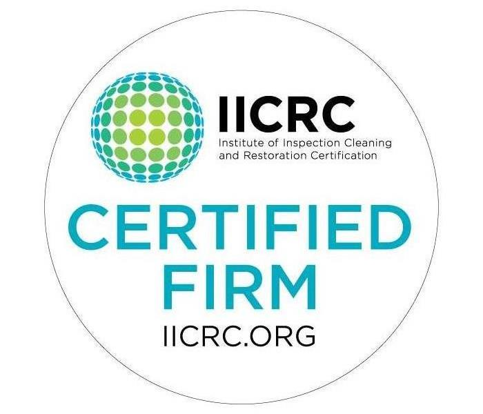 Why SERVPRO SERVPRO of Tupelo is an IICRC Certified Firm