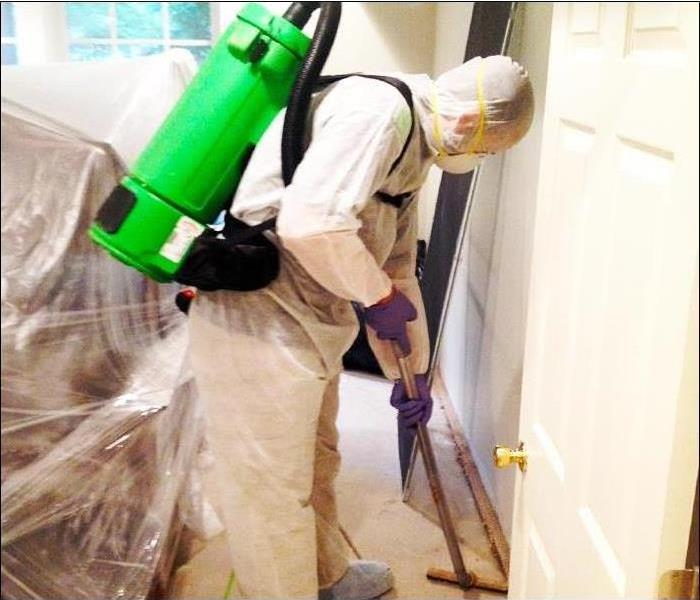 Mold Remediation SERVPRO of Tupelo: Mold Remedition Process